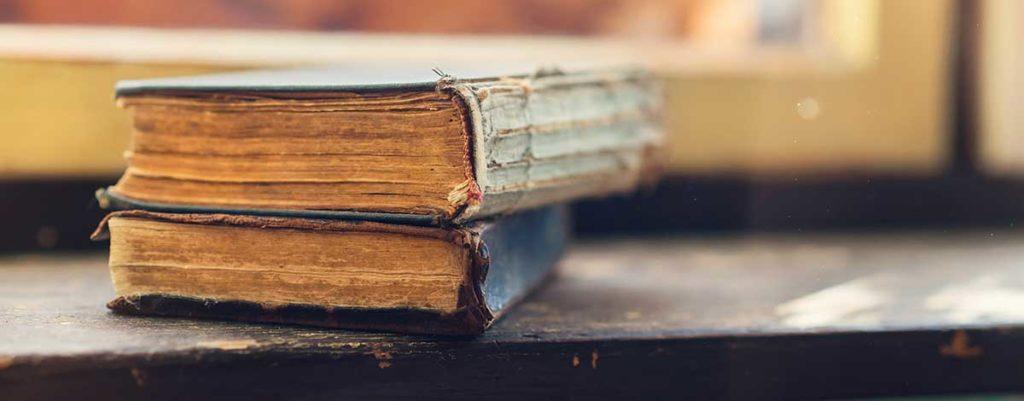 ספרים ישנים המיועדים לגניזה - מתוך מאמר על גניזה